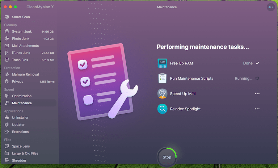 CleanMyMac X - Mac System Performance Maintenance