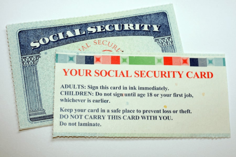 Protect Your Social Security Number Card